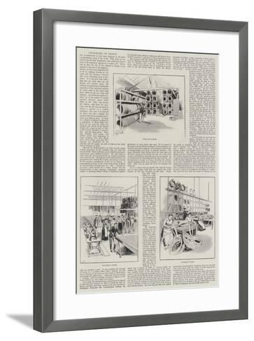 Cyclomania in France--Framed Art Print