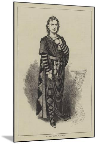 Mr Edwin Booth as Hamlet--Mounted Giclee Print