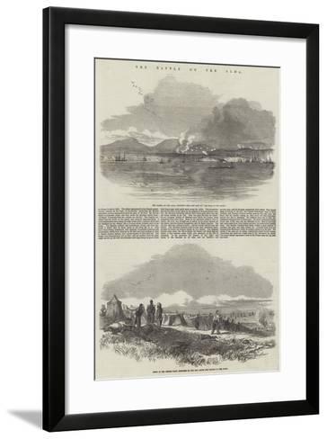 The Battle on the Alma--Framed Art Print