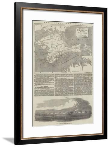 The Crimea Expedition--Framed Art Print