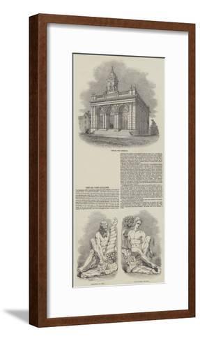Newark Corn Exchange--Framed Art Print
