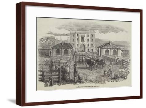 The Islington New Market--Framed Art Print