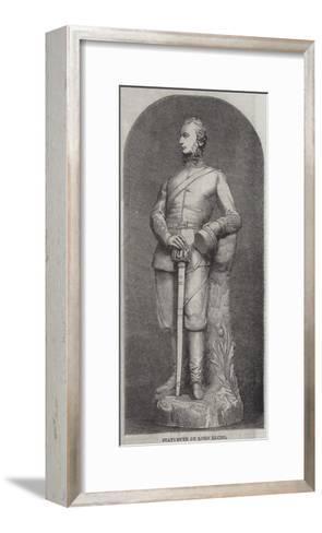 Statuette of Lord Elcho--Framed Art Print