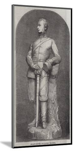 Statuette of Lord Elcho--Mounted Giclee Print