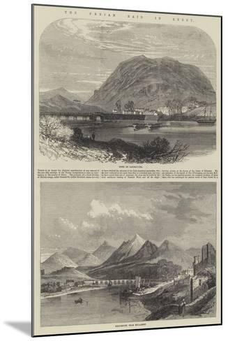 The Fenian Raid in Kerry--Mounted Giclee Print