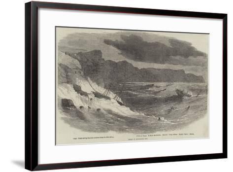 Storm in Balaclava Bay--Framed Art Print