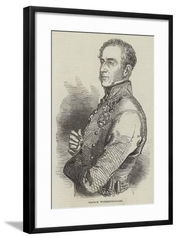 Prince Windischgratz--Framed Art Print