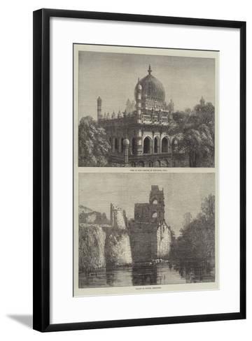 Sketches of Beejapoor--Framed Art Print