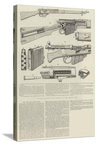 The New Magazine Rifle--Stretched Canvas Print