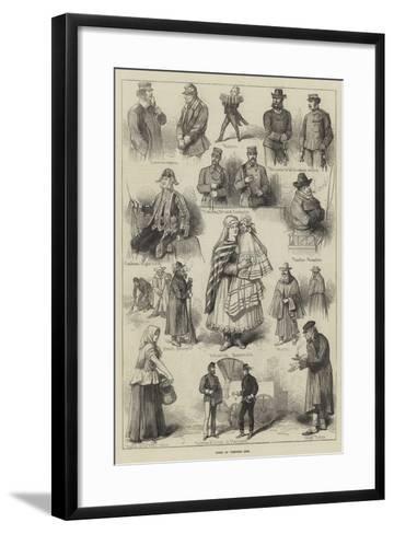 Types of Viennese Life--Framed Art Print