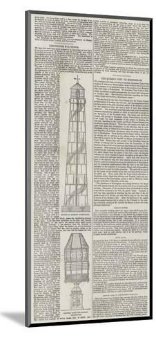 Lighthouse for Russia--Mounted Giclee Print