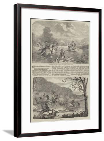 Hunting--Framed Art Print