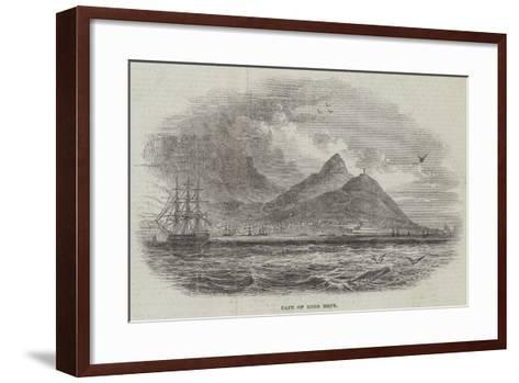 Cape of Good Hope--Framed Art Print