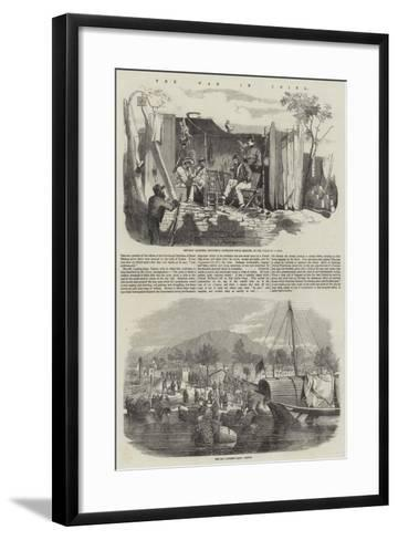 The War in China--Framed Art Print