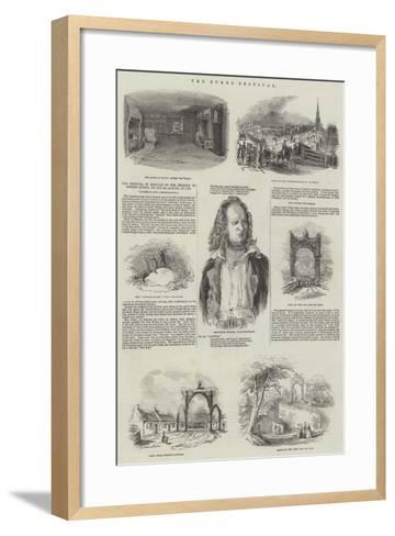The Burns Festival--Framed Art Print