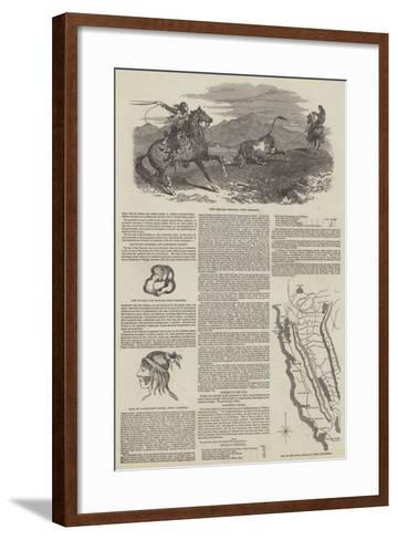 Upper California--Framed Art Print