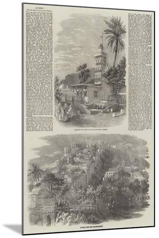 Algiers--Mounted Giclee Print