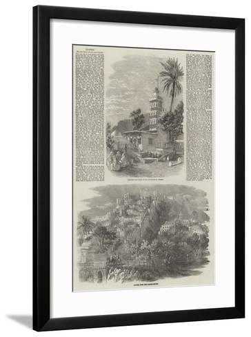 Algiers--Framed Art Print