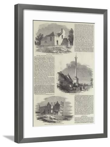 Duke of Wellington--Framed Art Print