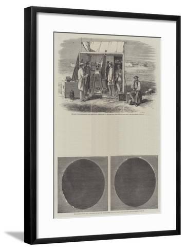 Eclipse of the Sun--Framed Art Print