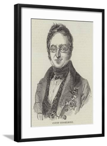 Count Nesselrode--Framed Art Print