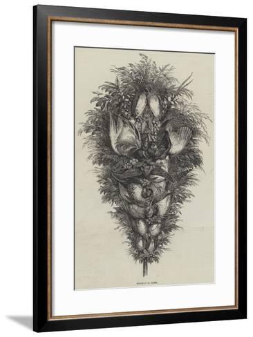 Bouquet of Game--Framed Art Print