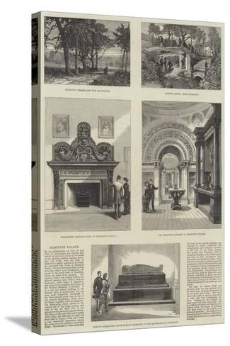 Hamilton Palace--Stretched Canvas Print