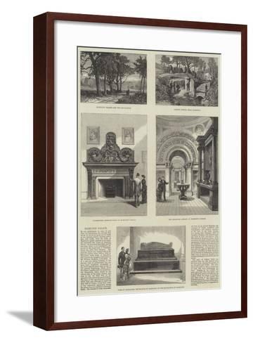 Hamilton Palace--Framed Art Print