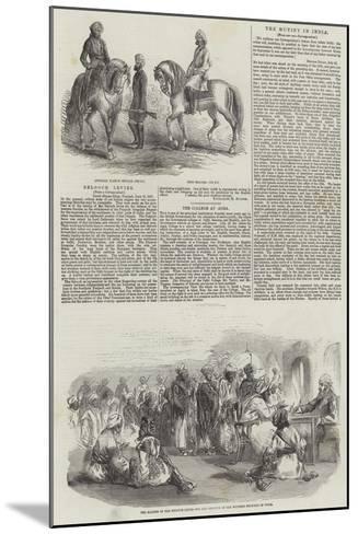 Belooch Levies--Mounted Giclee Print