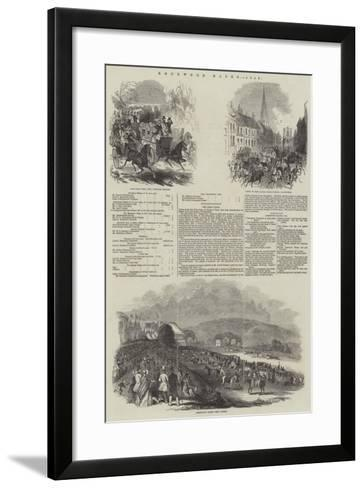 Goodwood Races--Framed Art Print