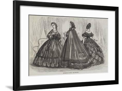 Mourning Costume--Framed Art Print