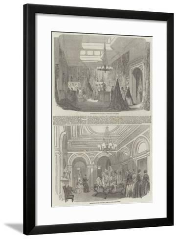 Schomberg House--Framed Art Print