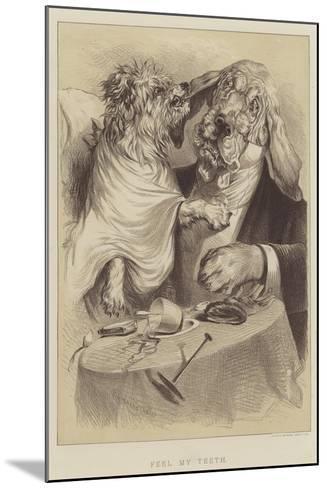 Feel My Teeth--Mounted Giclee Print
