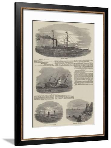Wreck of the Orion--Framed Art Print