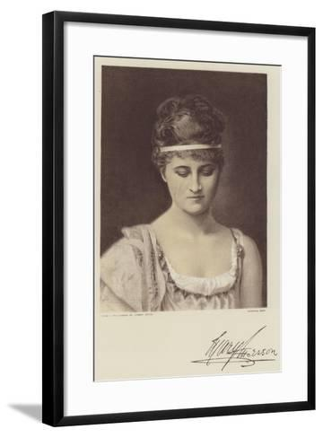 Mary Anderson--Framed Art Print
