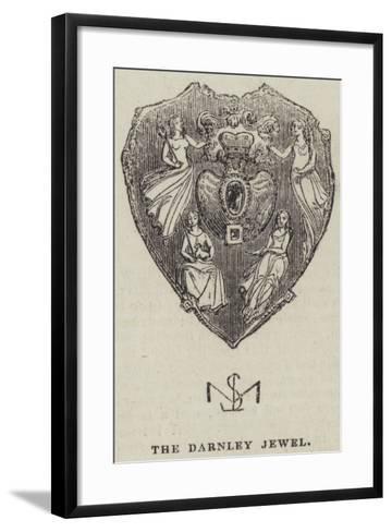 The Darnley Jewel--Framed Art Print