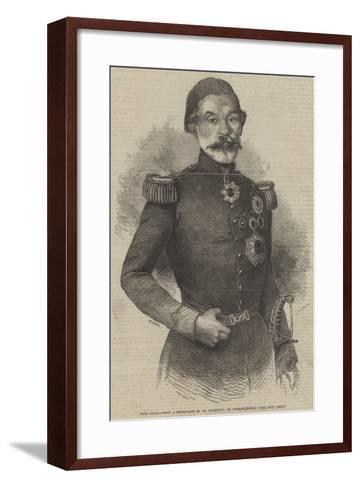 Omer Pacha--Framed Art Print