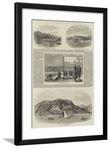 Sketches in Japan--Framed Art Print