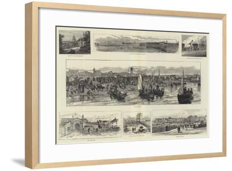 Portsmouth--Framed Art Print
