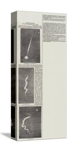 Splendid Meteor--Stretched Canvas Print
