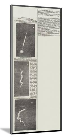 Splendid Meteor--Mounted Giclee Print