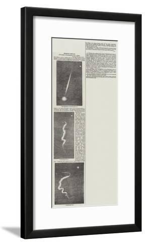 Splendid Meteor--Framed Art Print