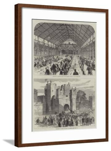 Sketches of Alnwick--Framed Art Print