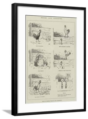 Whims and Oddities--Framed Art Print