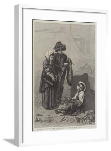 The Broken Violin--Framed Art Print