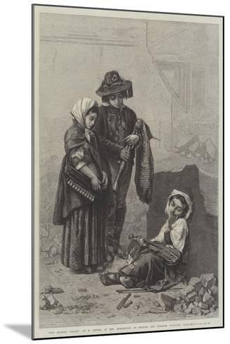 The Broken Violin--Mounted Giclee Print