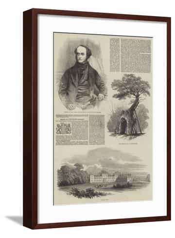 Welbeck Abbey--Framed Art Print