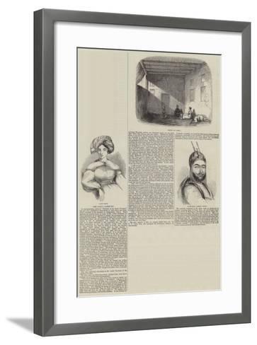 The Cabul Captivity--Framed Art Print