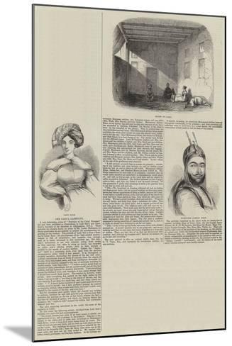 The Cabul Captivity--Mounted Giclee Print