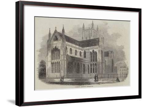 Worcester Cathedral--Framed Art Print